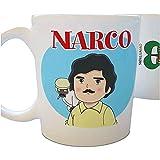 Café y Té Tazas Tazas de Series: Narco Parodias no Oficiales en Tazas Originales Desayuno