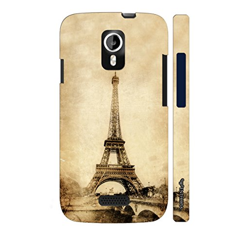 Enthopia Designer Hardshell Case Don'T Cross The Line Back Cover for Micromax A116 Canvas HD  available at amazon for Rs.95