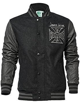 West Coast Choppers OG Cross Wool Baseball Jacket