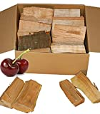 Landree Smoker Holz Kirsche Cherry BBQ Holz Räucherholz Smoker Wood Kirsche 15 kg