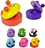 Children's Musical Percussion Instrument Wooden Castanet Preschool Education Toy
