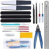 HSEAMALL 18PCS Gundam Model Tools Kit Hobby Building Craft Set para reparación y reparación de modelos básicos de construcción