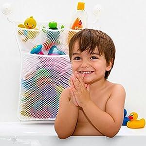 SevenMye Baby Bath Toy Mesh Net Storage Bag Organizer Holder,Suction Cup Bag