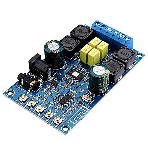 Ting WU DIY 2x50 Watt Zwei Kanal Stereo Bluetooth Power Kann ausgangslautstärke Verstärkerplatine Modul Audio Receiver 12 V Digital Lautsprecher for Zuhause Auto Development Board Module -