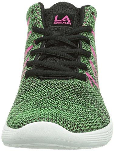 L.A. Gear PACIFIC, Sneaker Donna Verde (Grün (Green 03))