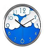 Sucastle 12 in metallo Orologio da Parete Effetto Tridimensionale 3D Sticker Decorazione per Casa Ufficio Hotel Ristorante Fai Da Te Orologio Ingranaggio In Europeo Retro Fatto a Mano