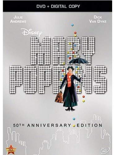 Mary Poppins: 50th Anniversary Edition (DVD + Digital Copy) by Julie Andrews