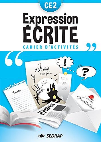 Français CE2 Lot de 5 cahiers d'expression écrite par SEDRAP