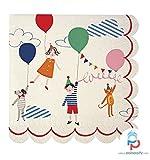 Toot Sweet - Tovaglioli di carta piccoli, per feste di bambini