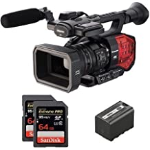 Panasonic AG-DVX200 Cámara de hombro 15.49MP MOS 4K Ultra HD Negro, Rojo - Videocámara (15,49 MP, MOS, 8,8 MP, 15,49 MP, 13x, 10x)