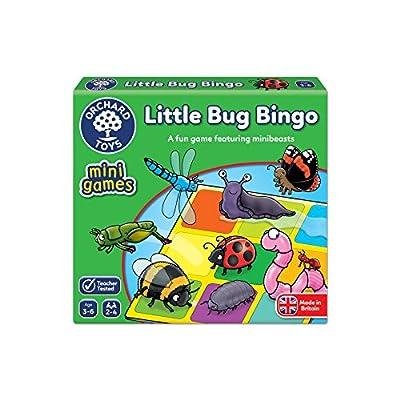 Orchard Toys- Jeu de Loto Insectes + Apprendre l'anglais, 359, Multicolore