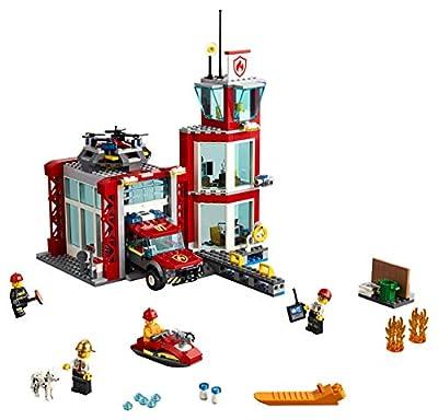 LEGO City Fire Brigade Fire Station 60215 (509 parts) light & sound - 2019