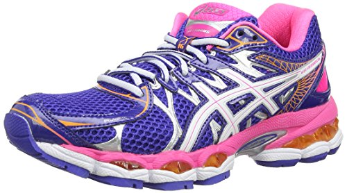 asics-gel-nimbus-16-womens-multisport-outdoor-shoes-colore-blu-true-blue-white-neon-pink-taglia-6-uk