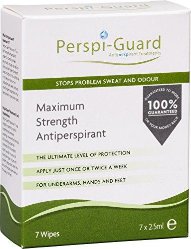 perspi-guard salviette antitraspiranti maximum strength - 175 ml