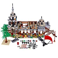 12che 1237Pcs DIY Scene Building Block Weapon Accessories for Military Minifigure - Desert Cathedral