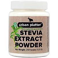 Urban Platter Stevia Extract Powder, 250g / 8.8oz [Zero Calorie Sweetener]