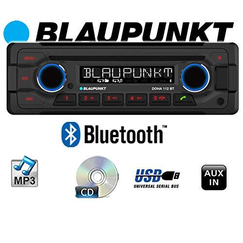 Blaupunkt Doha 112 BT - CD/MP3-Autoradio mit Bluetooth/USB / AUX-IN