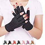 DISUPPO Arthritis Handschuhe für Herren Damen, Arthritis Kompressions-Handschuhe Gloves wirkt schmerlindernd bei Rheumatoide, RSI, Karpaltunnel für Computer-Typisierung Arbeit