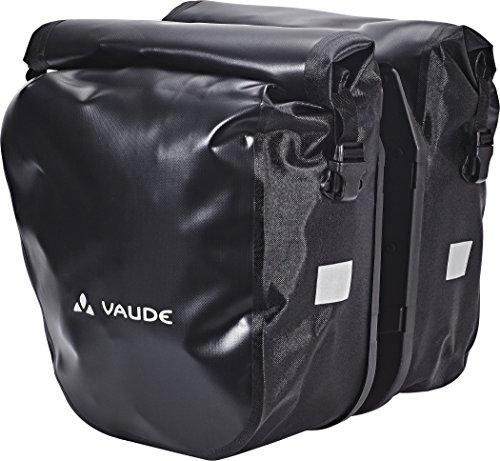 Vaude SE Back Pannier 2 Bike Bag Black 2018 Fahrradtasche (Bag Pannier)