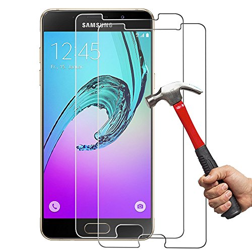 [2-Unidades] Samsung A52016Cristal Templado Hepooya A5 2016 Protector de Pantalla para Samsung...