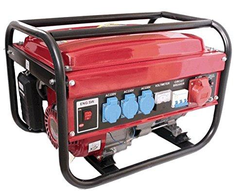 Prakat Générateur électrique à essence avec 1fiche triphasée/3fiches...