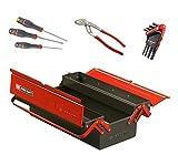 Facom BT.9cmwb caja de herramientas metálico 3cases con 13herramientas, negro