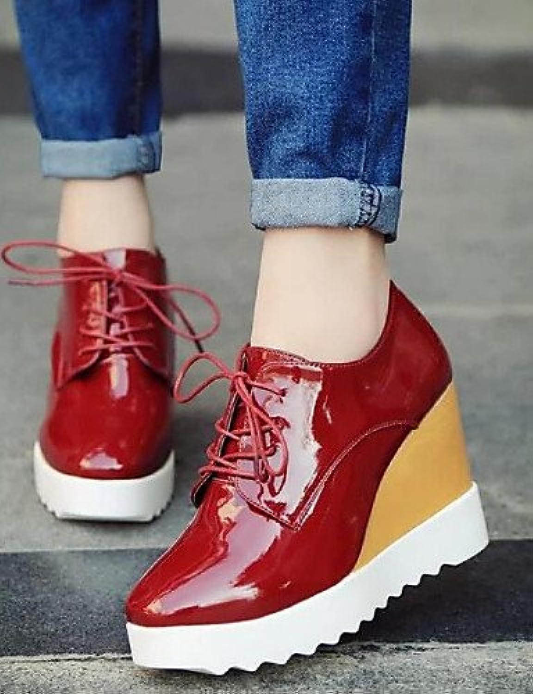 NJX/ hug Zapatos de mujer - Tacón Cuña - Comfort / Punta Cuadrada - Sneakers a la Moda - Exterior / Vestido -...