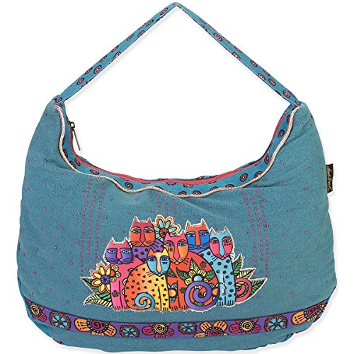 laurel-burch-borsa-hobo-con-motivo-di-laurel-burch-20-x-3-x-12-cm-feline-clan