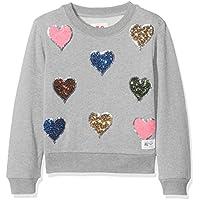 Unbekannt Mädchen Sweatshirt C-Neck Sweater Heart