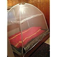 XXL-Tente Moustiquaire Moustiquaire pour lits de Campito, 200x 150x 160cm, avec 3entrées