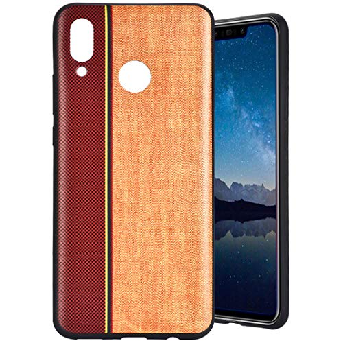 MeganStore Coque For Huawei Nova 3 Silicone,Mode Contraste Ultra Mince Leger Silicone TPU Doux Etui de Protection Anti-Choc Anti-Rayures Antidérapant Pare-Chocs Etui Housse For Huawei Nova 3,Kaki