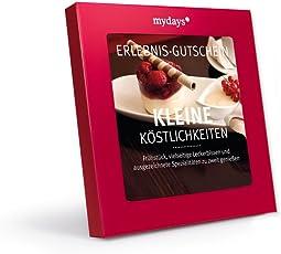 mydays Erlebnis-Gutschein Kleine Köstlichkeiten   2 Personen   über 80 Standorte   Inklusive Geschenkbox
