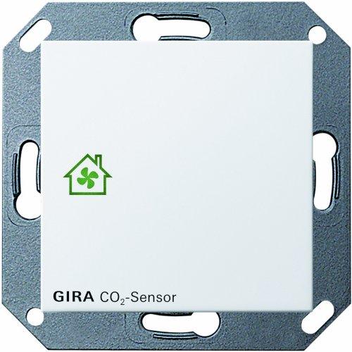 Gira 238103 Raumluft Sensor CO2 System 55, reinweiß