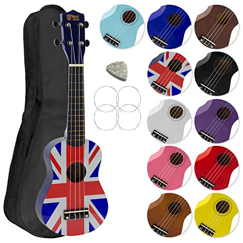 Mad By Design (Mad About Sopran Ukulele - Union Jack Design)
