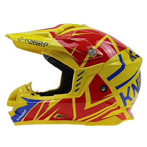 CC-helmet Offroad motorradhelm/DOT Zertifiziert Roller ATV Erwachsene männer und Frauen Helm mehrfarbige Auswahl (S, M, L, XL, XXL), B, L59~60 cm