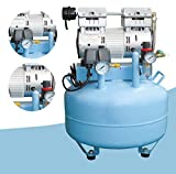 Dental Medical, rauscharmes Öl frei verschraubt Air Kompressor Motor/220V 40L 150L/min für zwei Dental Stühle