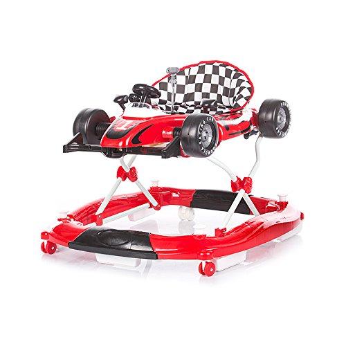 Chipolino Lauflernwagen 4 in 1 Racer, verstellbar, Wippe, Aufnahmefunktion rot