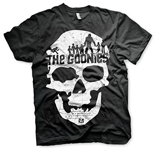 Officially Licensed Merchandise The Goonies Skull T-Shirt, S to XXL