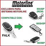 Mando garaje exclusivo Motorline Falk - Válido solo para sistemas Motorline