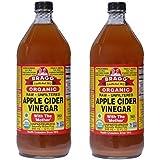 Bragg Organic Raw Apple Cider Vinegar 32 Fl Oz - 2 Pcs