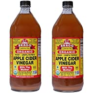 Braggs Organic Apple Cider Vinegar, 946ml (Pack of 2)