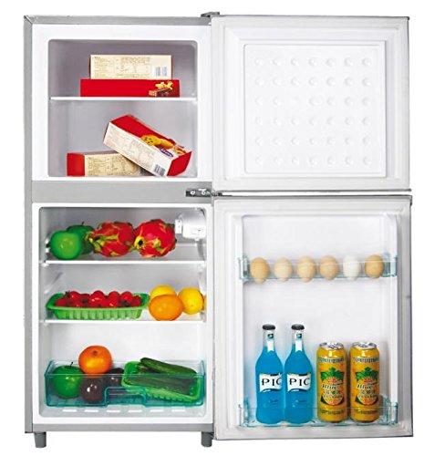 DCG Eltronic MF1110 CDP Libera installazione 70L 40L A+ Argento frigorifero con congelatore