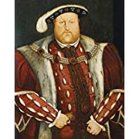 HeritageArtDecor Portrait of King Henry VIII - Fine Art Print on Fine Art Canvas - Print ON Canvas ONLY -NO Frame - Image Size is 15 x 18 Inch Wall Painting