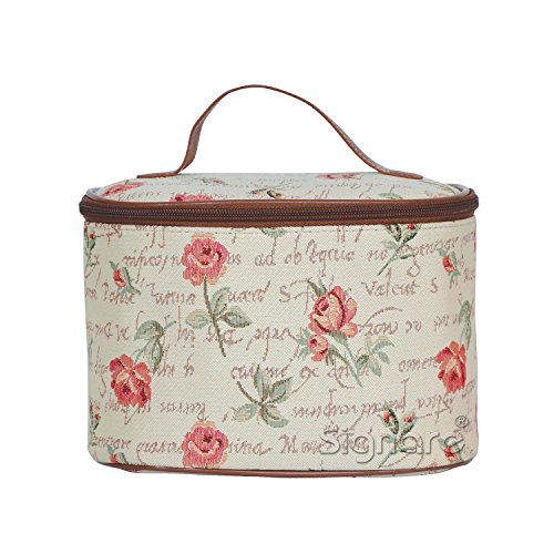 signare-womens-vanity-bag-toiletry-case-make-up-case-available-in-14-designs-red-rose