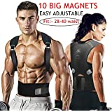 """BOLD Unisex Magnetic Brace Posture Corrector Therapy Shoulder Belt for Lower and Upper Back Pain Relief, for Men and Women (Fit From 28""""-40"""" Waist)"""