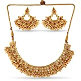 #10: Variation Gold Plated Beaded Popular Jewellery Necklace Set-VD18114