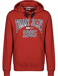 Tommy Jeans Herren Essential Graphic Langarm  Kapuzenpullover
