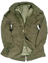 Mil-Tec - Parka Shell M65 de EUA sin capucha - oliva, M