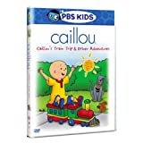 Caillou: Caillous Train Trip & Other Adventures [DVD] [Region 1] [US Import] [NTSC]