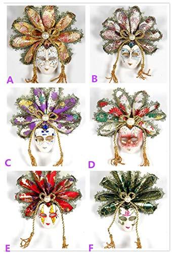 i Karneval Masken Dekorative Maskerade Masken für Party - Gelegentliche Anlieferung ()